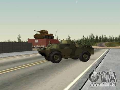 BRDM 2 pour GTA San Andreas vue de droite