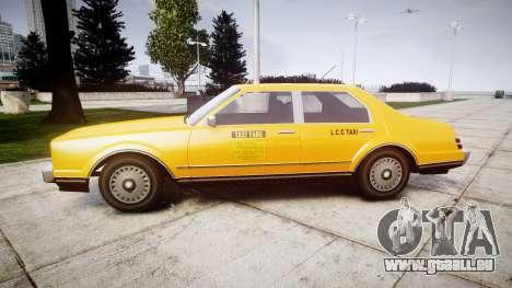 Albany Esperanto Taxi für GTA 4 linke Ansicht