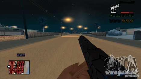 C-HUD Brendi pour GTA San Andreas deuxième écran