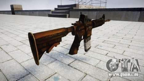 Tactique M4, fusil d'assaut pour GTA 4 secondes d'écran