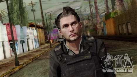 Modern Warfare 2 Skin 21 pour GTA San Andreas troisième écran