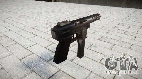 -Selbstlade-Pistole Intratec TEC-DC9 für GTA 4 Sekunden Bildschirm