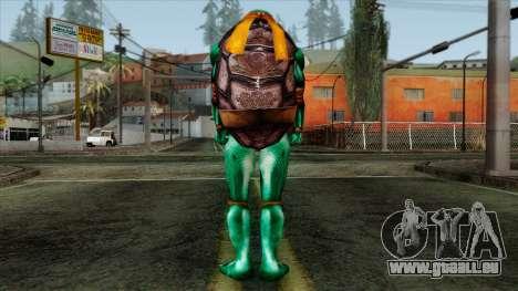 Mike (Tortues Ninja) pour GTA San Andreas deuxième écran