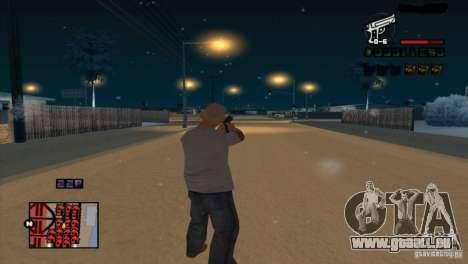 C-HUD Brendi pour GTA San Andreas quatrième écran