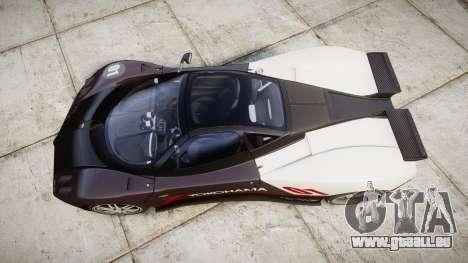 Pagani Zonda C12 S 7.3 2002 PJ3 pour GTA 4 est un droit