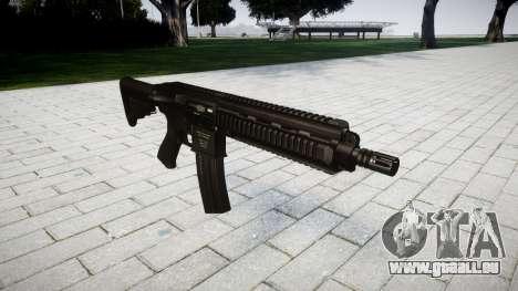 Machine HK416 pour GTA 4