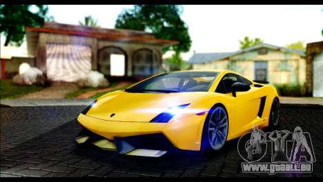 Lamborghini Gallardo LP 570-4 für GTA San Andreas