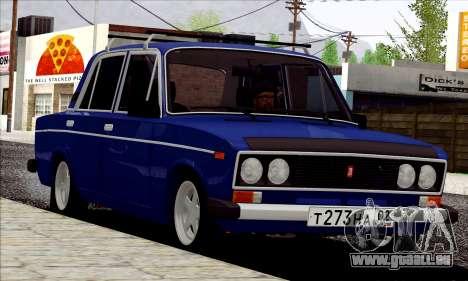ВАЗ 2106 Russischen Stil für GTA San Andreas