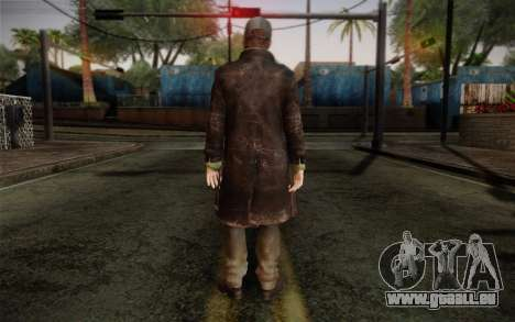 Aiden Pearce from Watch Dogs v2 für GTA San Andreas zweiten Screenshot