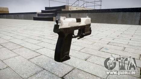 Pistole HK USP 45 yukon für GTA 4 Sekunden Bildschirm