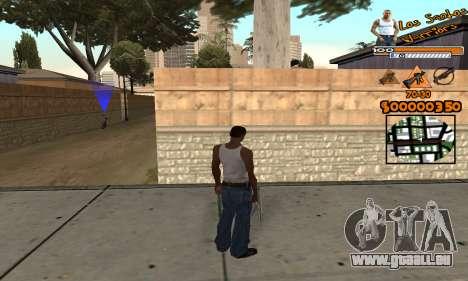 C-HUD LSW für GTA San Andreas zweiten Screenshot