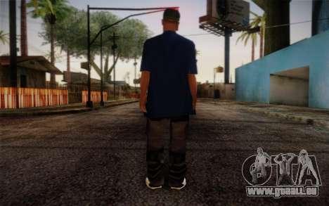 Ginos Ped 43 pour GTA San Andreas deuxième écran
