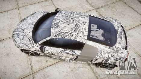Audi R8 plus 2013 HRE rims Sharpie für GTA 4 rechte Ansicht