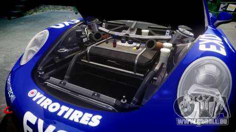 RUF RGT-8 GT3 [RIV] EXO pour GTA 4 est une vue de l'intérieur