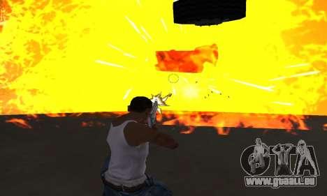 Yellow Effects pour GTA San Andreas quatrième écran