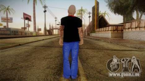 Phil Anselmo Skin pour GTA San Andreas deuxième écran