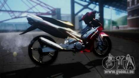 Yamaha Jupiter Mx pour GTA San Andreas laissé vue