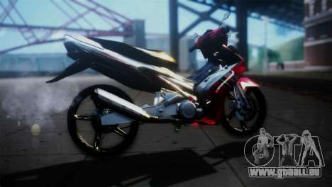 Yamaha Jupiter Mx für GTA San Andreas linke Ansicht
