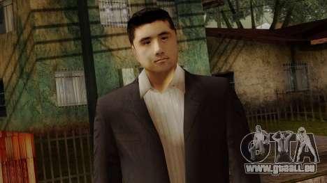 LCN Skin 5 pour GTA San Andreas troisième écran