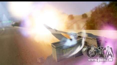 GTA V Rhino V2 für GTA San Andreas zurück linke Ansicht