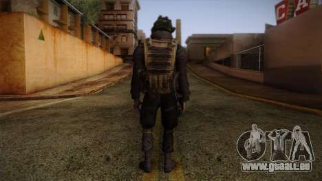 Modern Warfare 2 Skin 1 pour GTA San Andreas deuxième écran