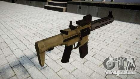 Fusil d'assaut AAC ratel pour GTA 4 secondes d'écran
