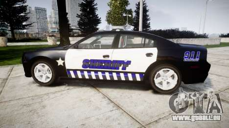 Dodge Charger RT 2014 Sheriff [ELS] pour GTA 4 est une gauche