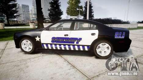 Dodge Charger RT 2014 Sheriff [ELS] für GTA 4 linke Ansicht
