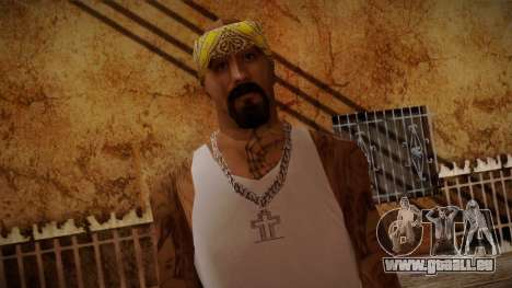 Fresno Buldogs 14 Skin 3 pour GTA San Andreas troisième écran