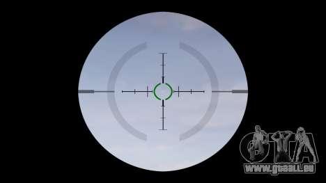 Tactique pistolet mitrailleur MP5 cible pour GTA 4 troisième écran