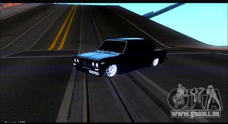 VAZ 2106 Chernysh pour GTA San Andreas
