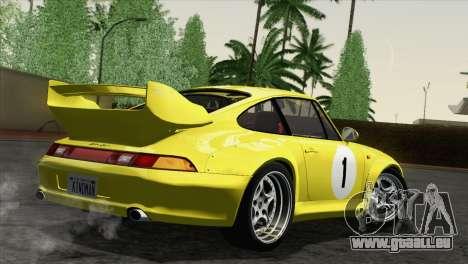 Porsche 911 GT2 (993) 1995 [HQLM] pour GTA San Andreas vue de côté