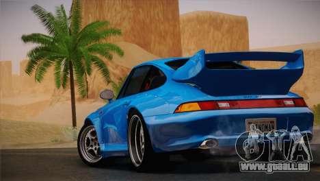 Porsche 911 GT2 (993) 1995 pour GTA San Andreas vue de droite