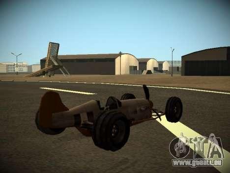 Rustler Tige Bêta pour GTA San Andreas laissé vue