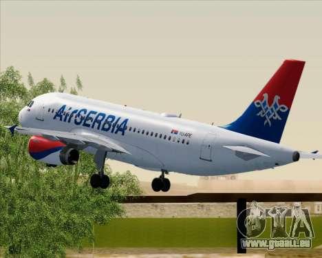 Airbus A319-100 Air Serbia pour GTA San Andreas