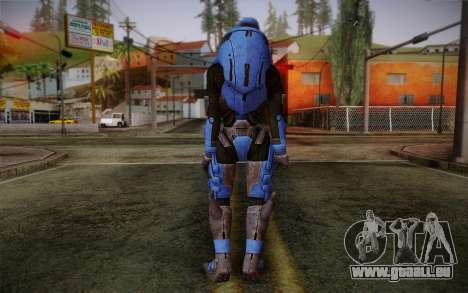 Garrus Helmet from Mass Effect 2 pour GTA San Andreas deuxième écran