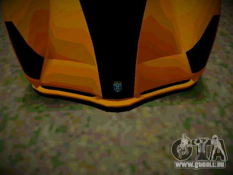 Cheetah из GTA 5 für GTA San Andreas zurück linke Ansicht