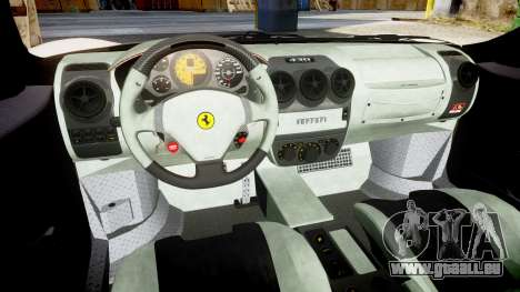Ferrari F430 Scuderia 2007 plate F430 pour GTA 4 est une vue de l'intérieur