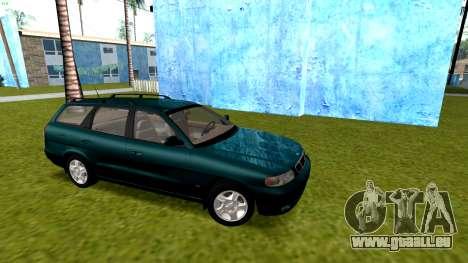 Daewoo Nubira I Kombi CDX US 1999 für GTA San Andreas Rückansicht