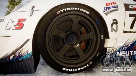 RUF RGT-8 GT3 [RIV] RobOil pour GTA 4 Vue arrière
