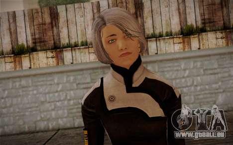 Karin Chakwas from Mass Effect pour GTA San Andreas troisième écran