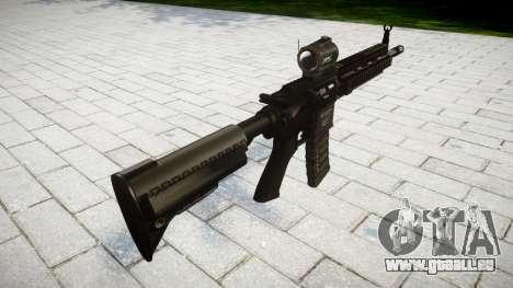 Machine HK416 AR pour GTA 4 secondes d'écran