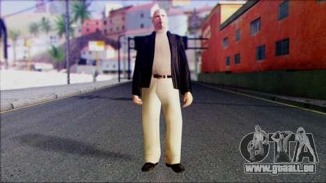 Russian Mafia Skin 1 pour GTA San Andreas