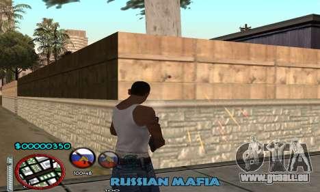 C-HUD Russian Mafia pour GTA San Andreas deuxième écran
