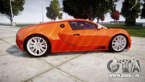 Bugatti Veyron 16.4 SS [EPM] Halloween Special pour GTA 4 est une gauche