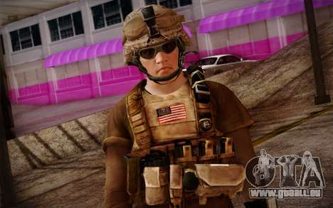 Brady from Battlefield 3 für GTA San Andreas dritten Screenshot