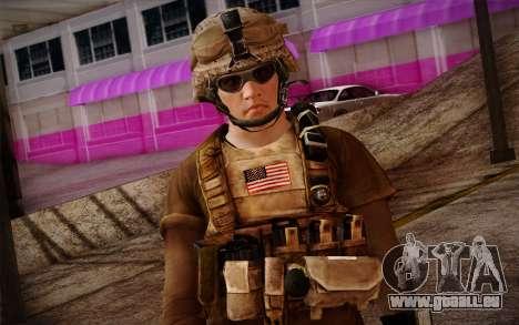Brady from Battlefield 3 für GTA San Andreas dritten Screenshot