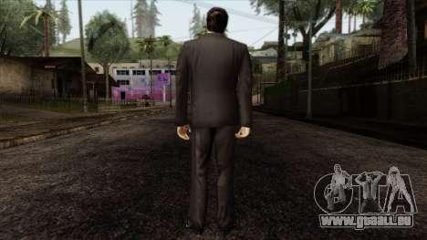 LCN Skin 5 pour GTA San Andreas deuxième écran