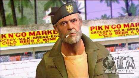 Left 4 Dead Survivor 4 pour GTA San Andreas troisième écran