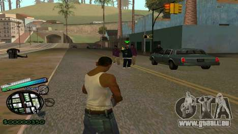 C-HUD New Style pour GTA San Andreas